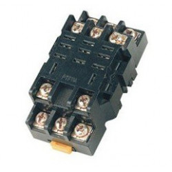 Relay socket omron din rail 11 pin ptf11a for ly3 300v 10a