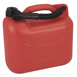 10l jerry can 10 liter red plastic spout 146,439 approved chemical diesel fuel