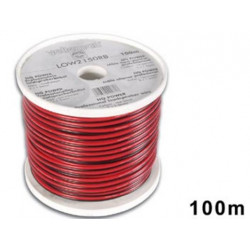 Cable haut parleur sono pa 2x1.5 hp 2x1,5mm2 100m sonorisation low2150rb public adress
