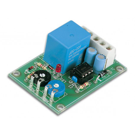 Timer module 12v pulse interval timer relay 3a vm136 time delay 0.5 to 5s vm136