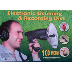 Electronic Listening Device Remote electronic listening for birds electronic remote listening bird