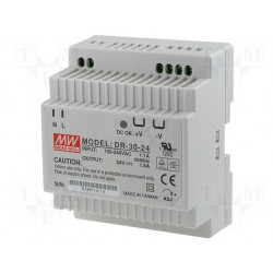 Switching power supply - 30w - 24vdc - din