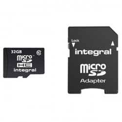 Carte memoire micro sd class 10 high capacité 32 go cmp-tfhc10-32g gb csmsdhc32gb