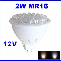 36leds 2w mr16 led light bulb 12v cool white