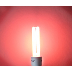 Isotronic energiesparlampe partylight e27 15w 75w rot