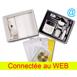 Wireless-alarm-set jablotron jk-16 web mit web-modul lan
