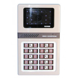 Intercom b w surface mounting camera panels for 20 apartments apartment video doorphone system video doorphone entry systems dig