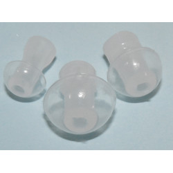 Ear tip for hearing aid and aso aso1 lot of 3 caps small medium and large size