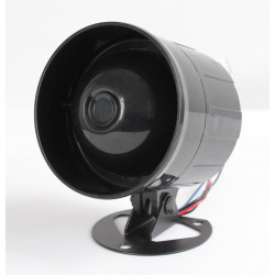 Electronic speaking siren 120db waterproof speaking siren, 12vdc 10w siren alarm sirens electronic acoustic alarm electronic spe