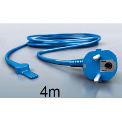 4m antifreeze electric heating cable cord aquacable-4 pipe frost protection with water hose thermostat