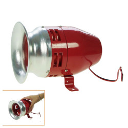 Electromechanic turbine siren 120db turbine siren, 220vac 1.8a 1500m turbine siren sonor protection alarm system interior turbin