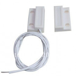Contact nf protruding 23mm white magnetic detector opening 114ms sensor for alarm
