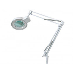 Lamp with magnifying glass 8 dioptre 22w white vtlamp2wn8