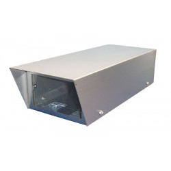 Caja de transporte video hermetica exterior 330x125x80mm no termostatica