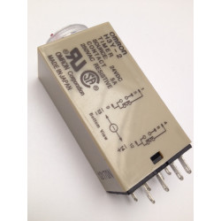 Omron relay 24v 5a h3y-2 timer 1 min to 60 min 230v 240v 2 no / nc in work or rest