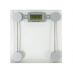 Person weighs digital lcd scale kilo weight cbal1