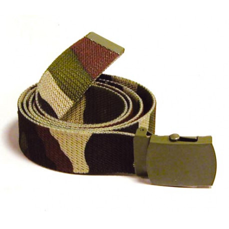 Belt buckle khaki camouflage defense army military police military belt
