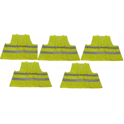 5 reflective vest size xl 471 class 2 in yellow vests visibility road safety improvement