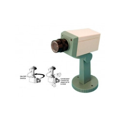 Dummy camera + led + support video surveillance fake security cameras dummy camera led support fake security system dummy video