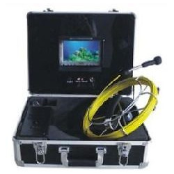 Camera color video inspection pipe 20m usb led unblocking pipe endoscope tec-z710