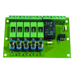Map control relay power opto-coupler outputs selectable 5 ref: relx5s-ca