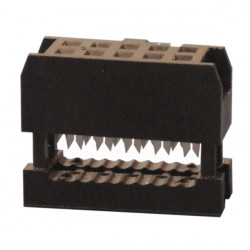10-pin female connector crimp female he10 10 pts + anti traction