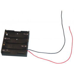Coupler plate with a son for 4 lr06 batteries (4r6) aa am3 lr6 15a mn1500 815 4006 e91 safe box
