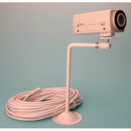 Camera b w 12v + support without objective without cable for m31qn