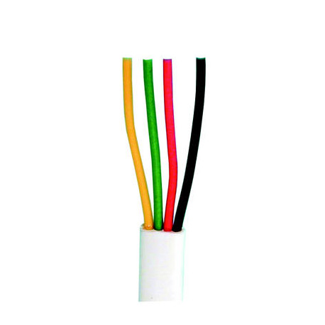 flat telephone cable, 4 wires for rj09, rj11, rj12, 1m phone cable