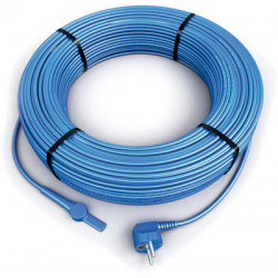 2m antifreeze electric heating cable cord aquacable-2 pipe frost protection with water hose thermostat