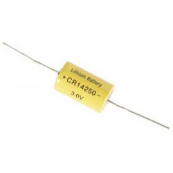Lithium 3.0v 950mah axiale pcb anschlusse