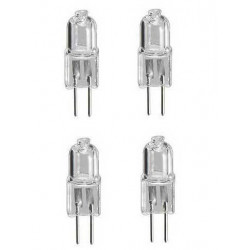 4 g4 jc type halogen lighting light bulb lamp 20w
