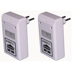 2 pcs 220v Eu Plug Ultrasonic Electronic Mouse Cockroach Pest Bug Mosquito Repeller Reject rat ultrasound chips spiders ticks