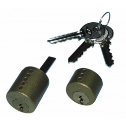 Canon cylinder lock with 3 keys for electric 5001.1z