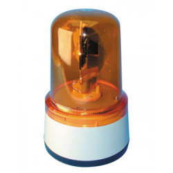 Rotating light amber fixed (12vdc 35w)