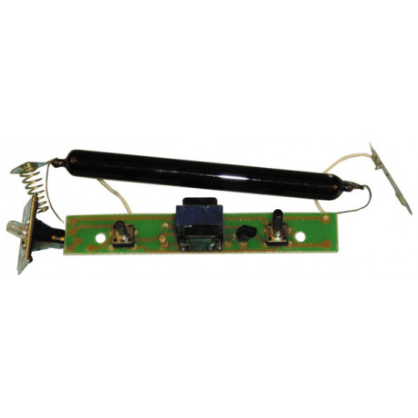 Electronic circuit for detector counterfeit dfbpi small model electric tube ultraviolet