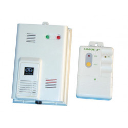 Detector wireless escaping gas detector for ce1 wireless alarm, 20 40m 433mhz wireless gas leak detector detects mixtures air co