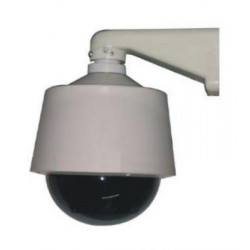 Dome tourelle motorise horizontale exterieure surveillance video tourelles camcold/hb