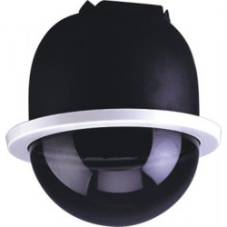 Dome tourelle motorise horizontale interieure encastrable surveillance video camcold/cb