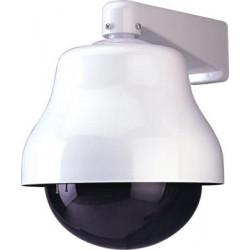 Dome motorised turret dome horizontal and vertical for external use video surveillance
