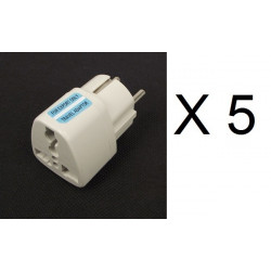 Travel adapter electric european plug to english plug adapter 1a 250vac adapter electric adapter electric