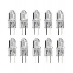Transparent halogen bulb 20w 6v g4 lhalg410c lamp g4 10hq