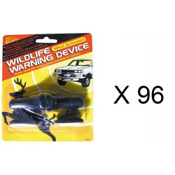 Whistle wind activated wildlife warning device for deer (pair of 2) nap zapper anti sleep alarm