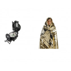 Hq metal liquid compass military look and blanket protection cold heat or moisture resistant safety lag154.0468 movie