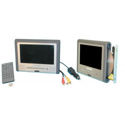 Mobile dvd player with built 7'' tft screen for car truck bus multimedia dvd player