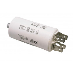 Capacitor 13.0uf  450 v  earth