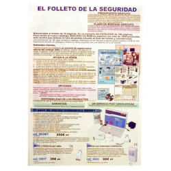 Folder 2003 spanish folders with prices and without our name (20 items) alarm, video surveillance, automatic gates, self defense