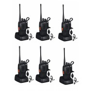 6 Talkie walkie 446mhz batterie rechargeable chargeur 16 Canaux UHF 400-470 MHz Baofeng BF-888S