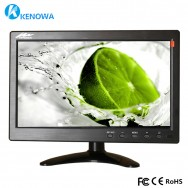 "10.1"" LCD HD Monitor Mini TV & Computer Display Color Screen 2 Channel Video Input Security Monitor With Speaker"