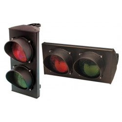 Light traffic lights 220vac red and green light semaphore 2 lights signalisation systems light traffic lights 220vac red and gre